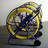High strength solid durable FRP fiberglass cable duct rodder