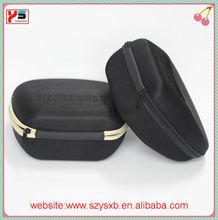 wholesale fabric EVA headphone box with zipper