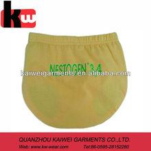 Light Yellow Pretty 100% Cotton Free Size Baby Underwear