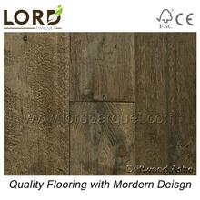 Driftwood Ashe Smoked Oak Plank Flooring