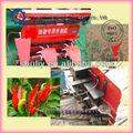 Trigo arroz pimenta soja cana pimenta Harvester / mini soja Harvester