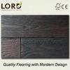 Solid Hardwood Russian White Oak Flooring Wenge-Black