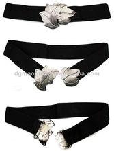 Silver Maple Leaf Buckle Elastane Wasit Belt,grosir baju anak langsung dari pabrik