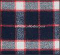 patio teñido de verificación cepillado tela de algodón para pijamas