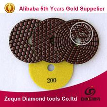 diamond dry pads flexible dry diamond polishing pad diamond hand polishing pads for stone