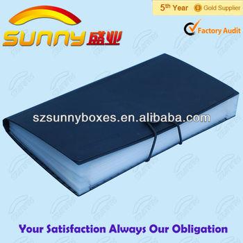 Coupon organizer plastic sheets