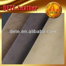 Telas de tapicería de cuero sintético precio por metro materiales para zapatos