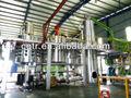 Dir utilisé le moteur de régénération d'huile sous vide équipement de distillation d'huile noire pour la réutilisation