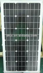 Hot Sale 100W 12V MonoCrystalline Panel Solar