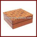 Alta calidad de laca de madera de embalaje caja de regalo