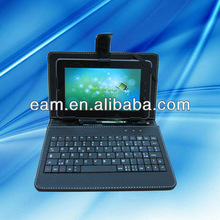 "7"" tablet pc keyboard case"