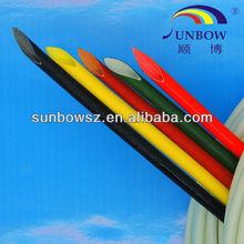 1.5kv break voltage insulation silicone fiberglass sleeve