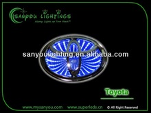 TOYOTA RAV4 REIZ 3D car badge lamp /LED badge Lights/ badge lamp