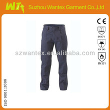 navy blue 100% cotton work trousers working cargo pants
