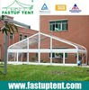 Clear roof tent for wedding party