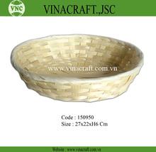 Oval shape basket - packaging basket in nature color