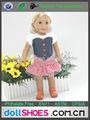 novo design 18 polegadas boneca roupa padrão roupa da boneca boneca americana da menina de roupas