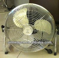 16'' induatrial fan /floor fan motor SN-F400 with strong metal blade