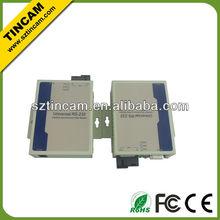 RS-232 fiber modem