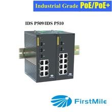 Gigabit Managed Industrial Ethernet 8 port PoE Switch
