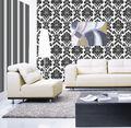 2014 novos projetos baratos vinly pvc papel de parede interior