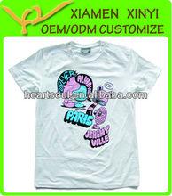 Wholesale 100 Percent Cotton Custom Promotional Print T-shirts Men