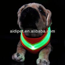 2013 el más caliente venta LED dog men arnés de cuero