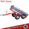 OD-10 Four Wheel Color Powder coated single axle small box trailer
