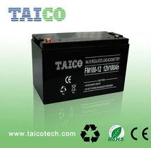 China battery manufacturer 12v 100ah lead acid ups battery price