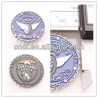 Customized soft enamel souvenir coin