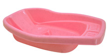 Plastic Baby Bath - 0868 Marble Pink