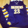 Custom Tackle Twill Basketball team Uniform (Jerseys & Shorts)