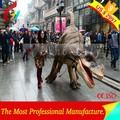 realista de la vida tamaño traje de dinosaurio