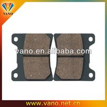 Long life span brand name brake pad for motorcycels TZR125