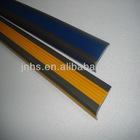 self-adhesive rubber pvc capping strip/pvc tile trim plastic strip