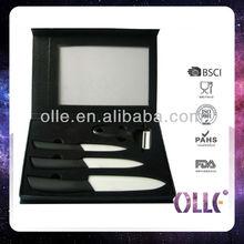 Kitchen Gifts Black Ceramic Knife Set
