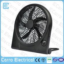 High speed small table top fan 12 inch sloar dc plastic fan