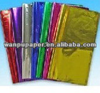 colorful cellophane paper in roll
