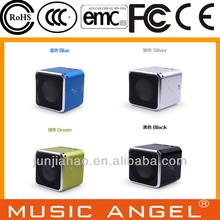Promotional gifts digital wireless mini mobile radio speakers