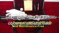 Adulto tipo totalmente automático prateado oboé de ébano-- 302s