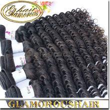 Hot Sale 6A Wholesale Hair Unprocessed Virgin Indian Deep Wavy