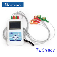 CE approved handheld portable multichannel Ecg holter Machine