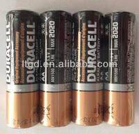1.5V alkaline AA duracel battery