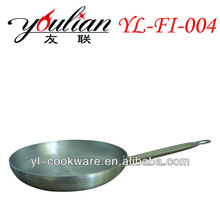 Aluminum Non-stick frypan with stainless steel handle cheap&high quality