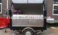 Crepe alevines carrito carrito de hielo suave crema ys-fv300-4