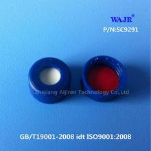 Best price 9mm blue cap for 9-425 autosampler vials suitable for Agilent vials
