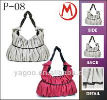 2014 fashion bag high quality pu bag lady tote handbag
