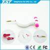 2013 Newest Promotional Mp3 Plastic Earphone