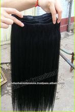 High quality indian virgin human hair machine weft deep curl india, steam perm hair india, human hair delhi