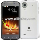 LA M1 4.5 ALIYUN Quad-core Qualcomm8225Q 1.2GHz 3G Smartphone Android Phone with GPS, Wi-Fi, Capacitive IPS Touch (White)